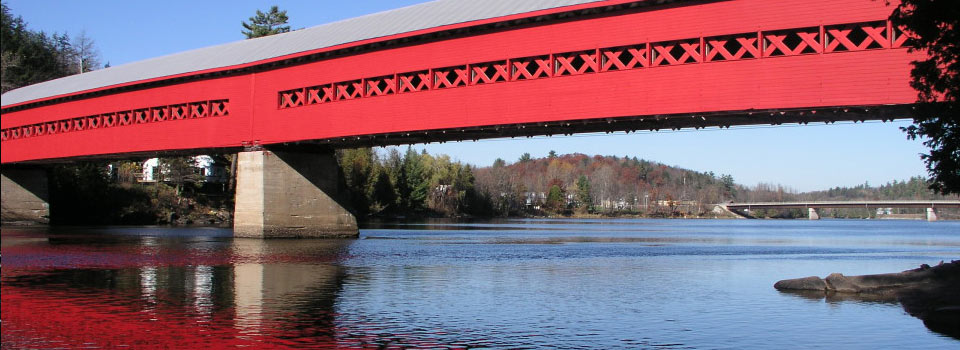Wakefield Bridge - Gatineau River Quebec